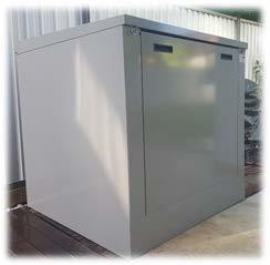 Acoustic Swimming Pool Filter Pump Enclosure The Acoustic Box