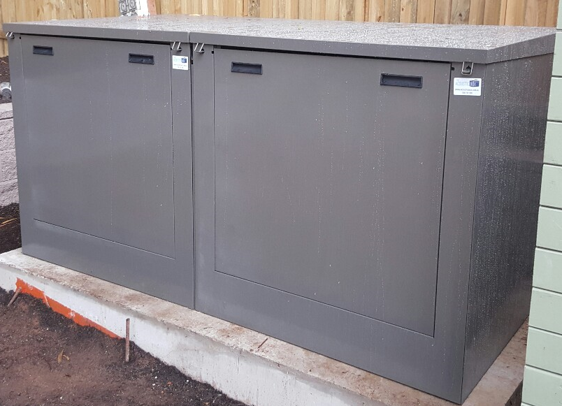 Large Pool Filter Cover - Slate Grey