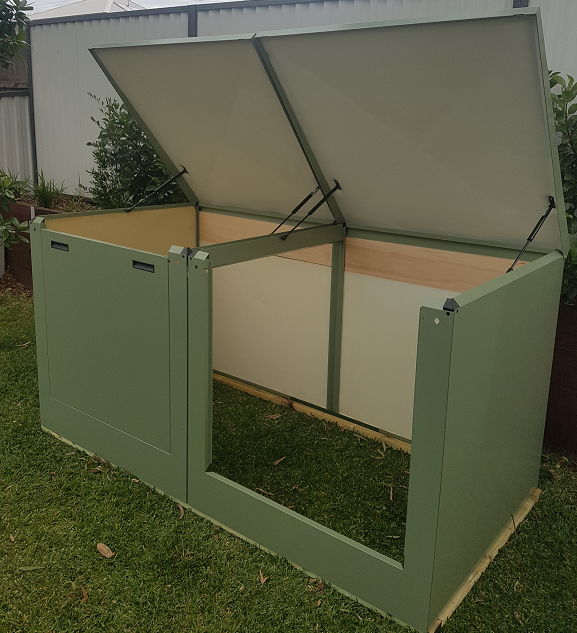 Large Pool Filter Cover - Eucalyptus Green